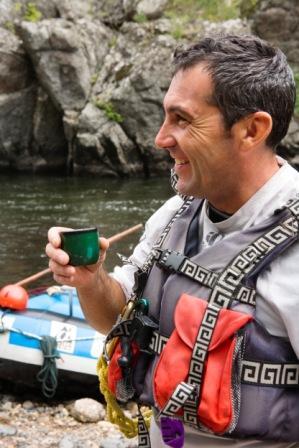 rafting en auvergne Hervé Pichon