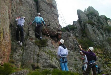 Climbing and Via-Ferrata