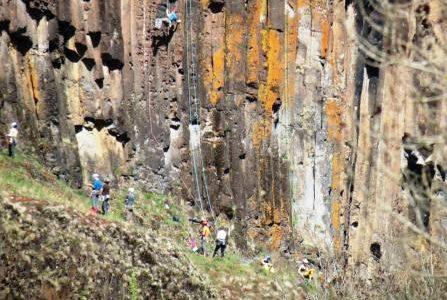 escalade basalte