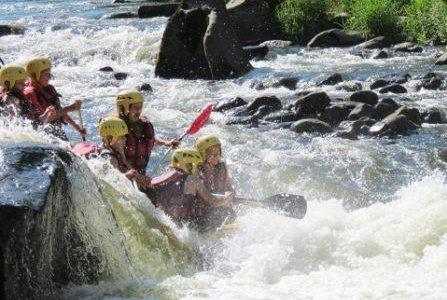 Journée Rafting avec pique-nique